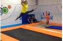Прыжки на батуте для детей