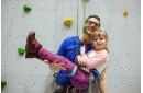Урок скалолазания для ребенка