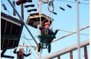 Веревочный парк детский