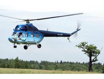 Полет на вертолете МИ-2