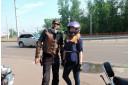 Мотопрогулка с байкером