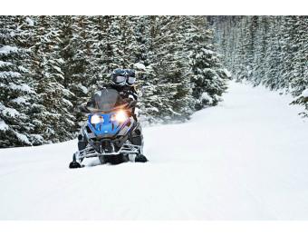 Катание на снегоходе 30 мин