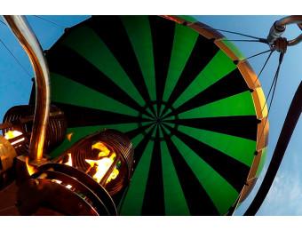 Полет на воздушном шаре. Усть-Орда