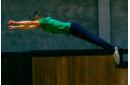 Прыжки на батуте для одного