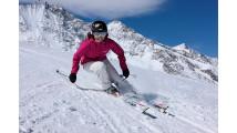 Урок по горным лыжам