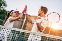Теннис для пары