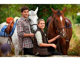 Романтическая конная прогулка