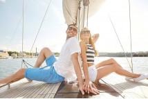 Романтическая прогулка на яхт…