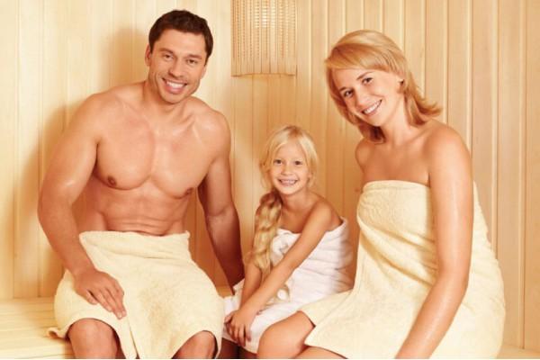 в баню с родителями фото