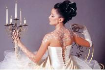 Свадебная роспись тела
