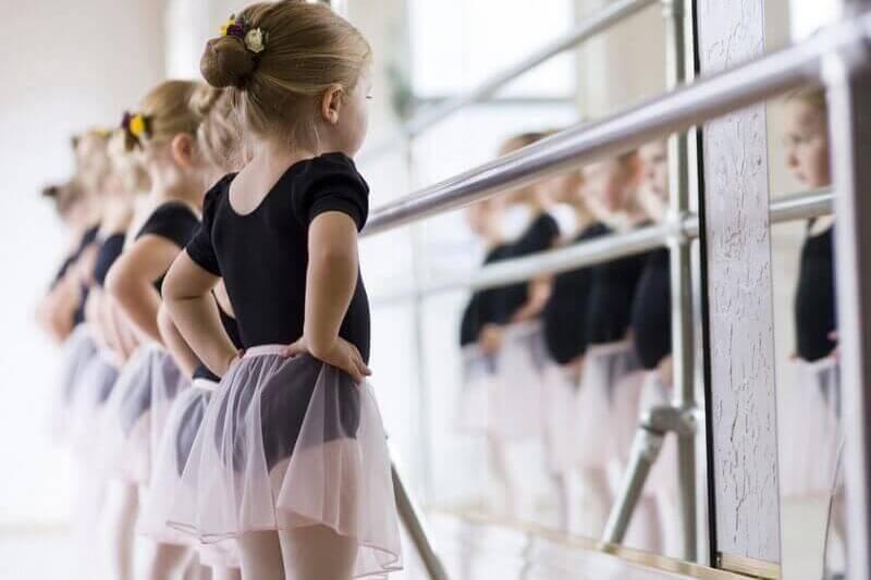 Тренировка в балетной студии