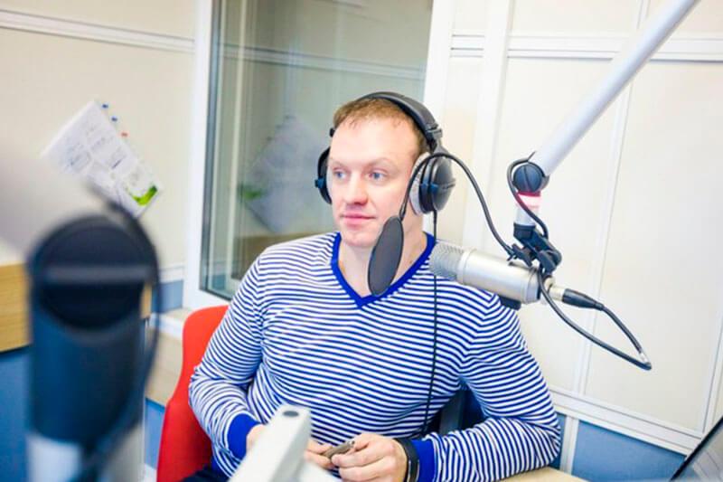 Мастер-класс от радиоведущего