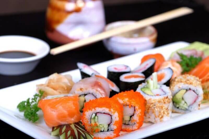 Мастер-класс по изготовлению суши, роллов