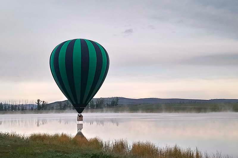 Полет на воздушном шаре для одного