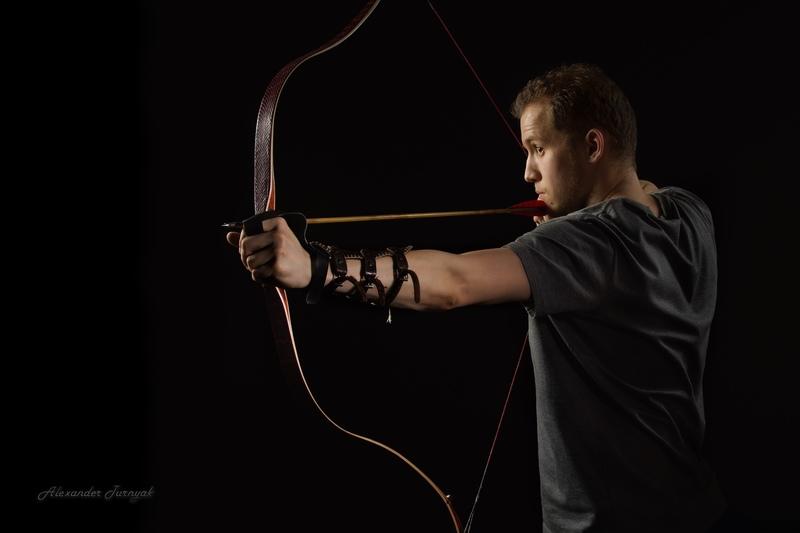 Индивидуальное занятие по стрельбе из лука