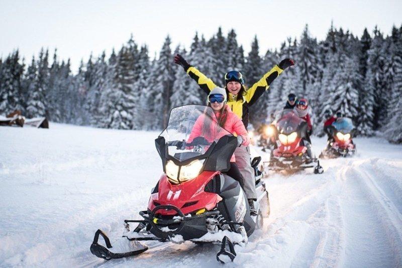 Тур на снегоходе